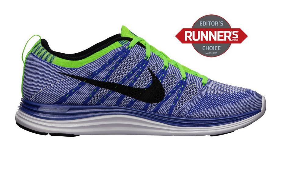 Blue Musical Notes Men's Ultra Lightweight Running Shoes