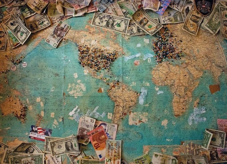 money map currency