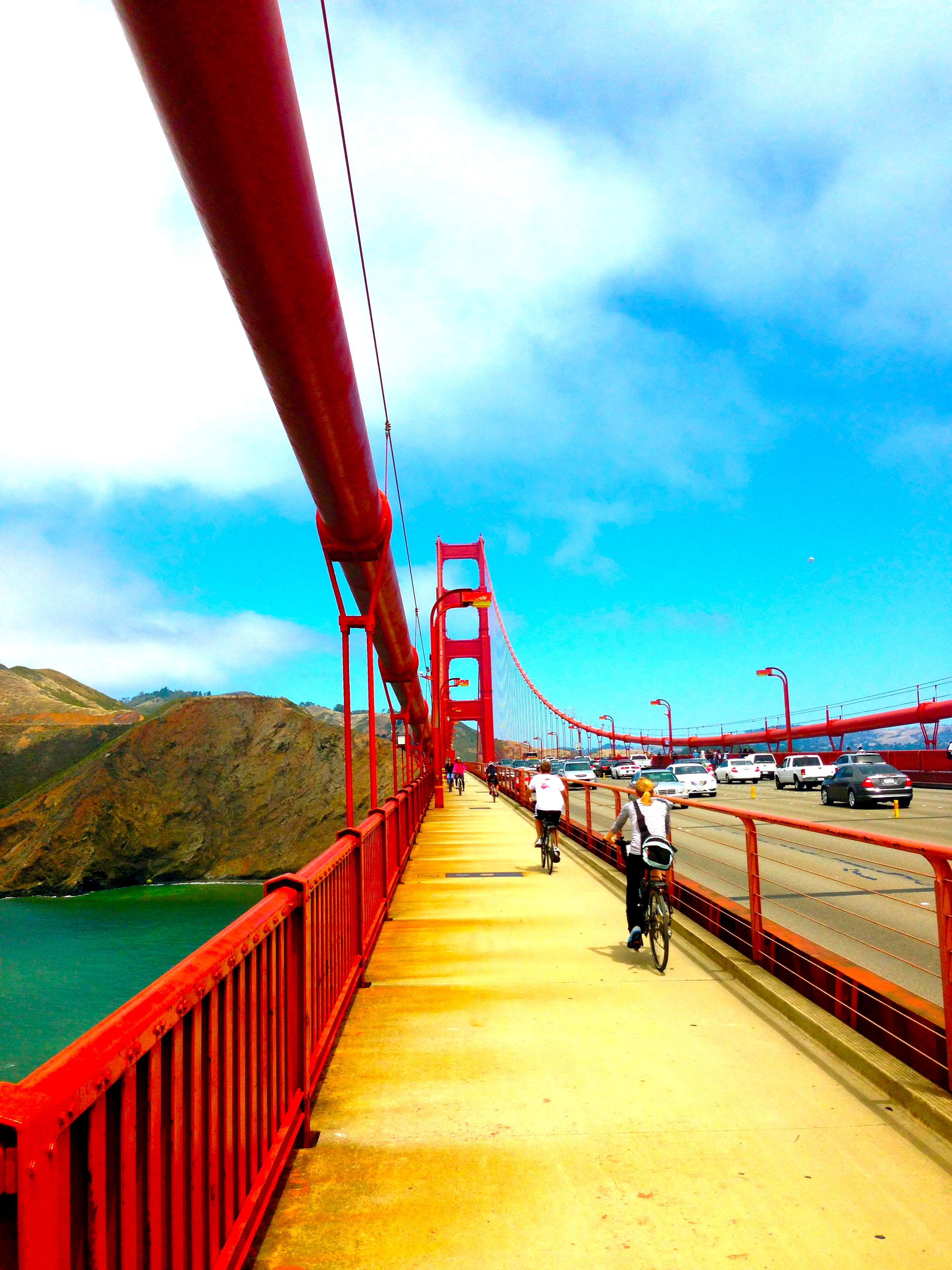 San Francisco To Tiburon Biking The Golden Gate Jetset