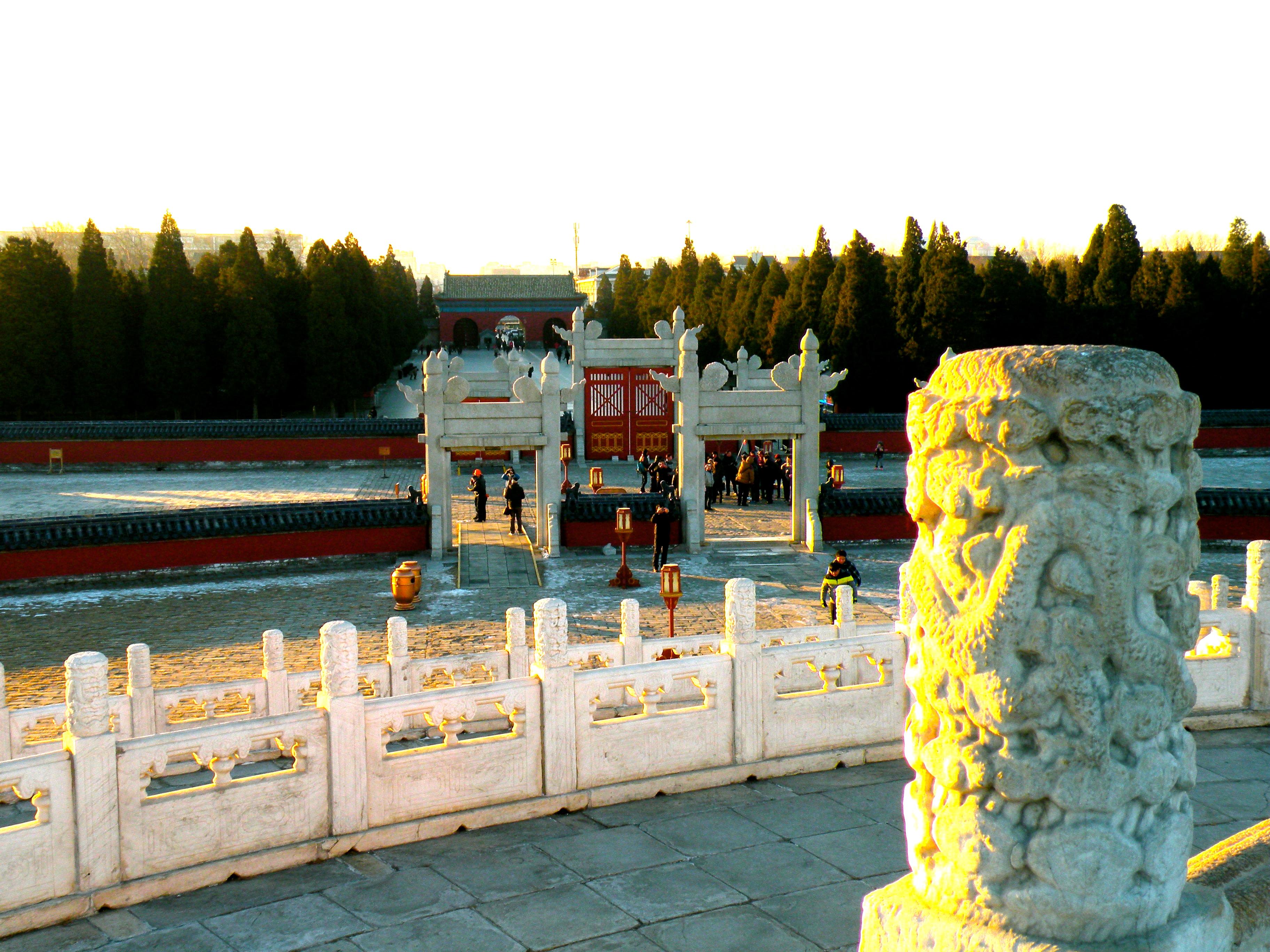 beijing china temple of heaven
