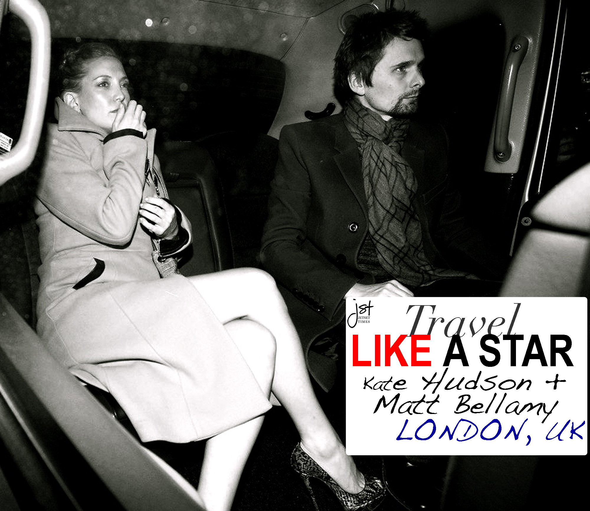 Kate Hudson Matt Bellamy London England
