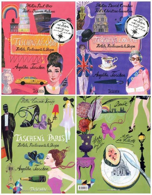 taschen love guide books london paris new york