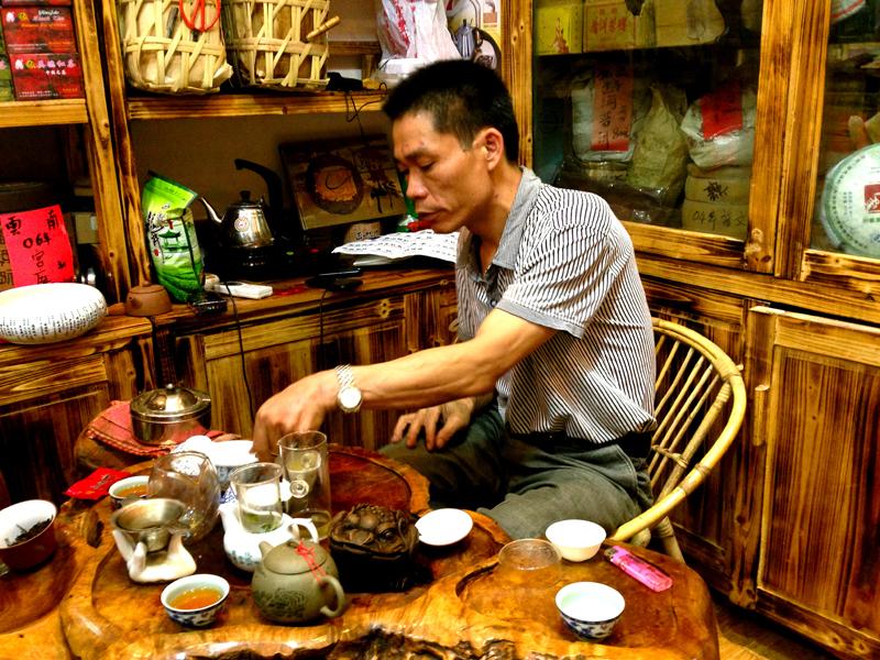 Guangzhou China tea shop 1