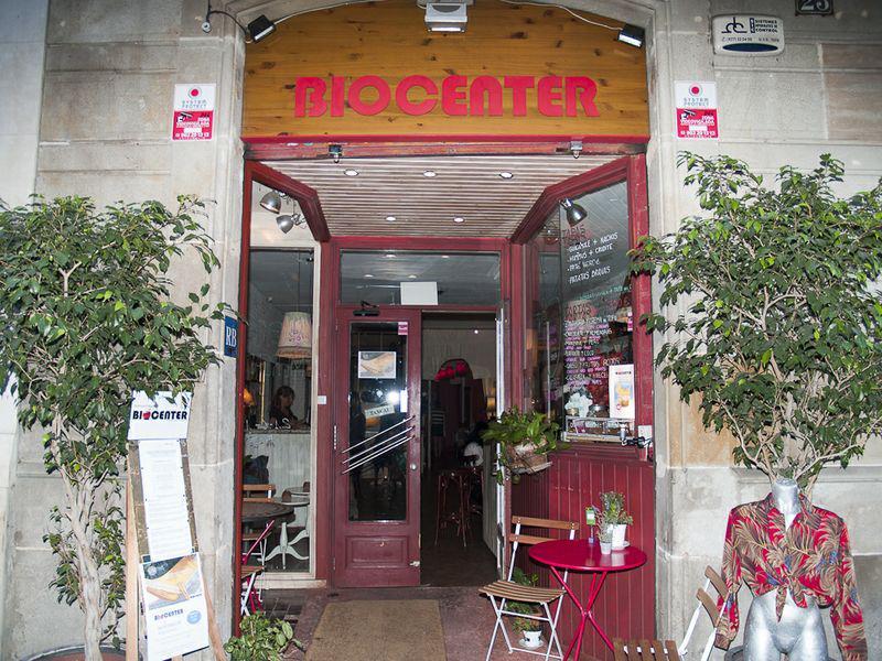 biocenter vegetarian restaurant spain barcelona