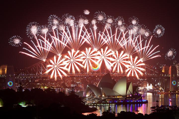 sydney australia nye fireworks