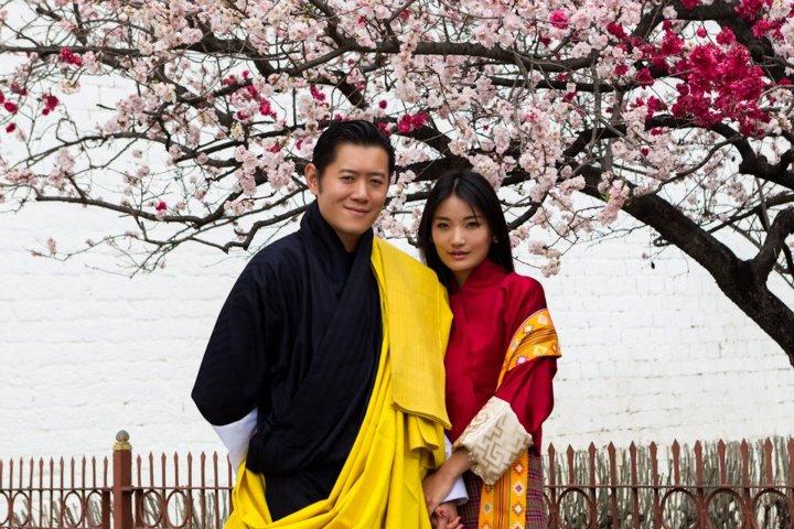 bhutan king queen