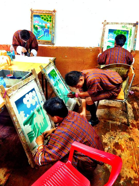 Thimphu art school