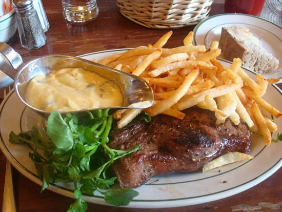 Pastis nyc steak and fries