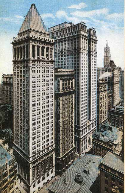 wolf of wall street equitable building