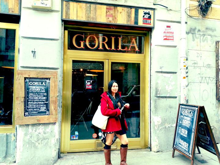 gorila madrid spain cafe 1
