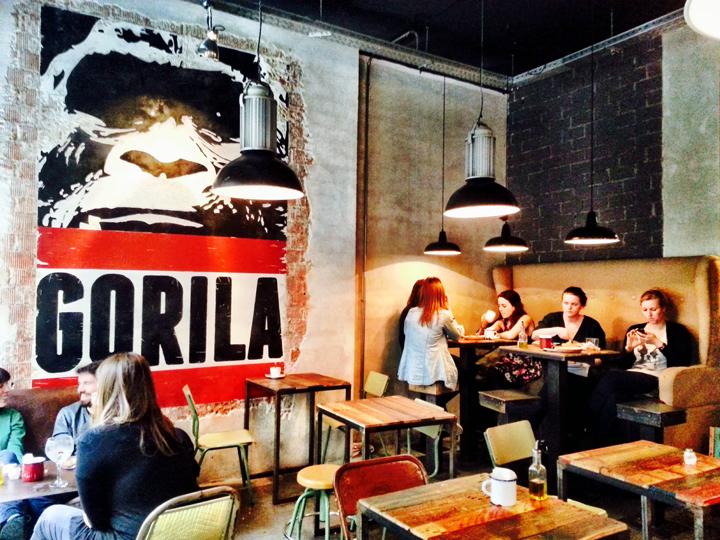 gorila madrid spain cafe
