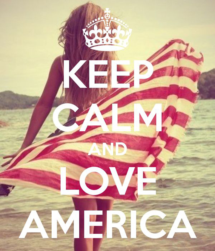 Keep Calm Love America