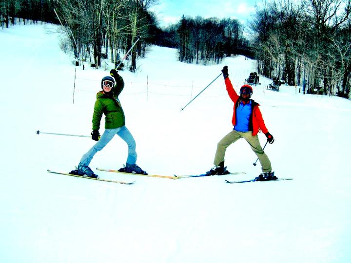 Sofia Vermont ski spring break