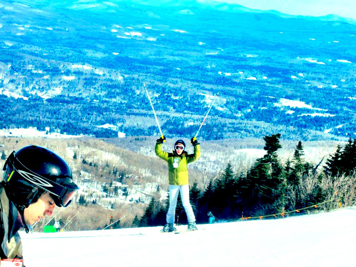 Sofia Vermont Spring Break ski