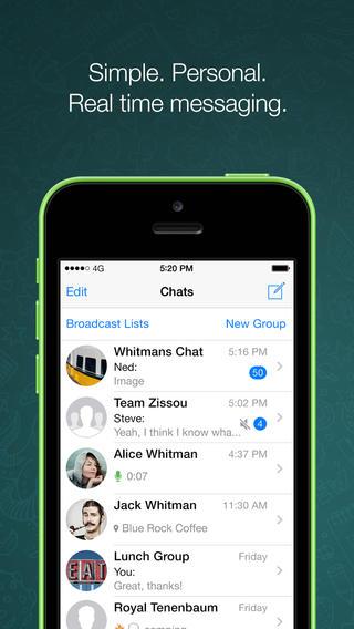 Whatsapp tech app