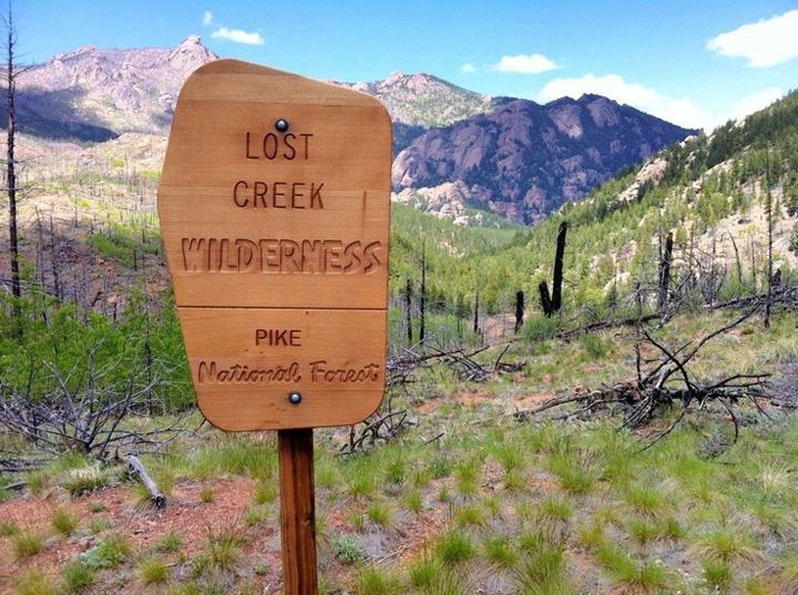 Colorado Goose Creek and Molly Gulch