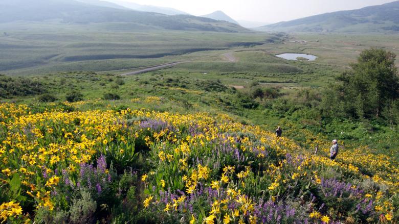 Colorado Hessie Trailhead at Nederland
