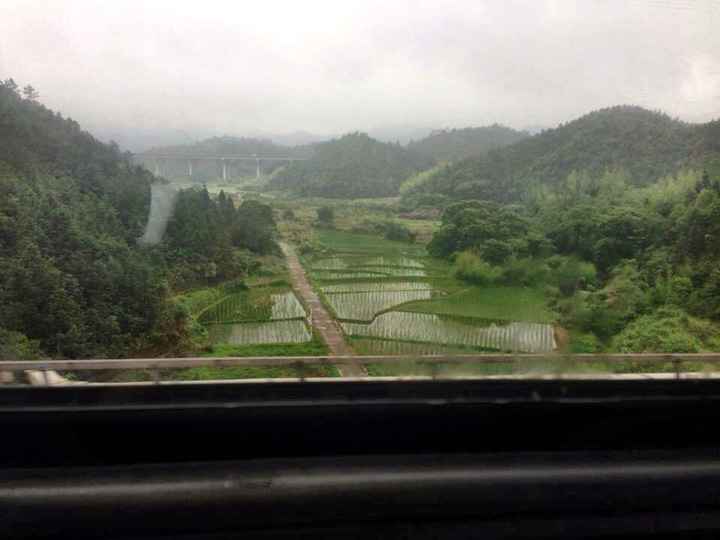 China train Yellow Mountain 2