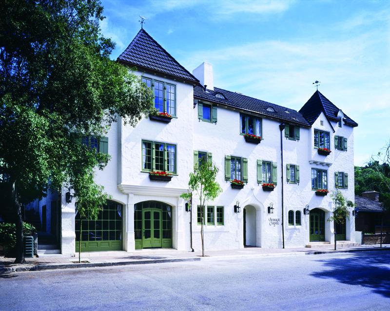 Exterior of L'Auberge Hotel