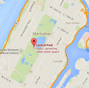 Map Central Park Nyc Jetset Times Catalog Of Cool Places