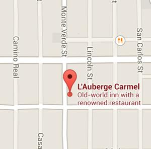 map l'auberge carmel