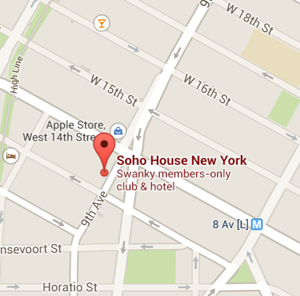 map soho house nyc - Jetset Times | Catalog of Cool Places
