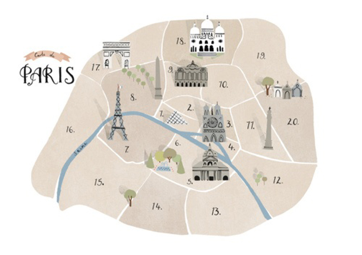Paris Map Districts.Paris Neighborhoods The Ultimate Breakdown Of Arrondissements