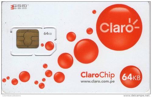 delcampe net Lima Peru Claro SIM card - Jetset Times