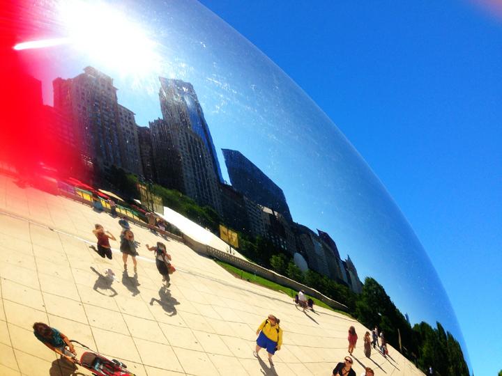 1. tourist Chicago