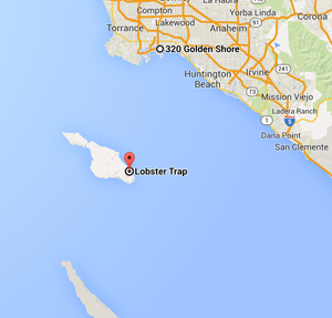 map catalina island the lobster trap california - Jetset Times on