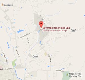 Map Silverado Napa Valley Resort And Spa