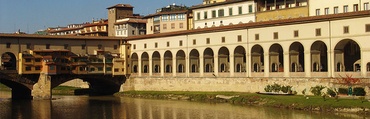 Vasari Corridor Florence Italy