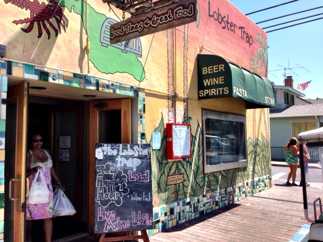Catalina Island California The Lobster Trap restaurant