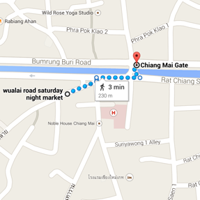 Your Complete Guide To Chiang Mai's Night Markets - Jetset Times on night market map, chiang mai night bazaar shopping, chiang mai thailand sweethearts, koh tao map, chiang mai sunday market,