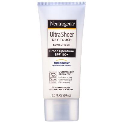 neutrogena spf lotion