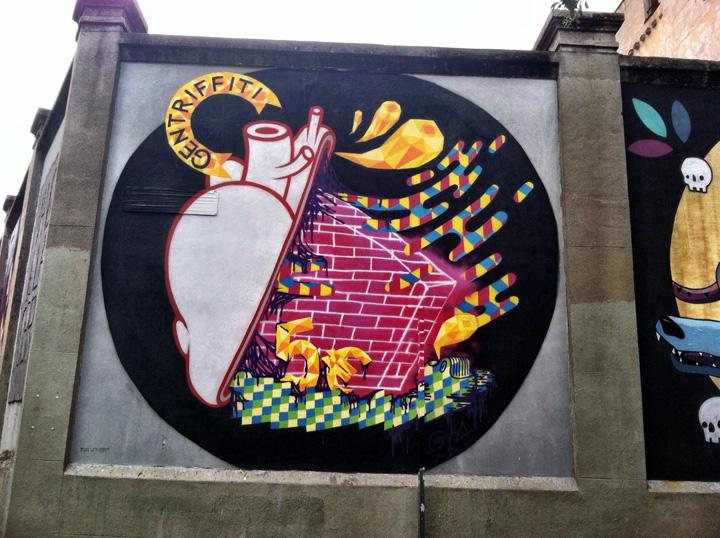 La Tabacalera Madrid graffiti art