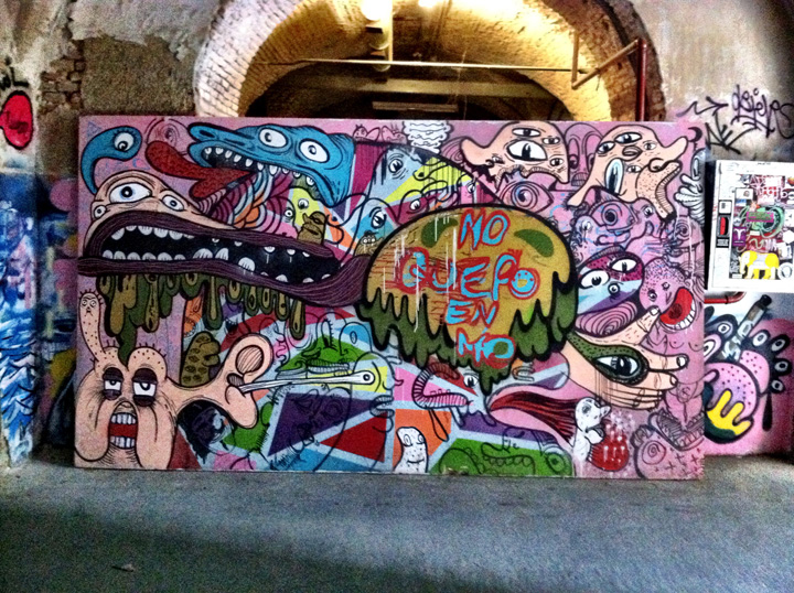 La Tabacalera Madrid graffiti