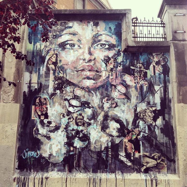 La Tabacalera Madrid street art spain