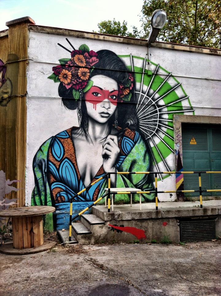 La Tabacalera madrid street art
