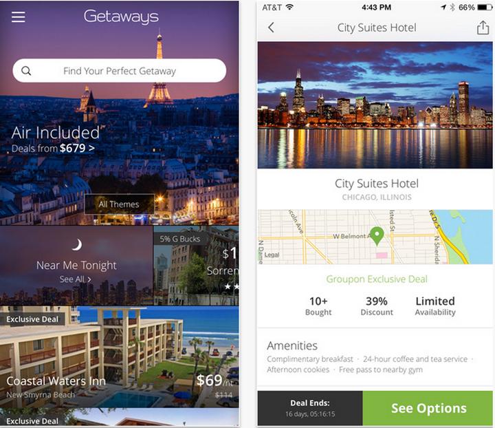 "Groupon's New ""Getaways"" App Is A Wanderlust's Gem - Jetset Times"