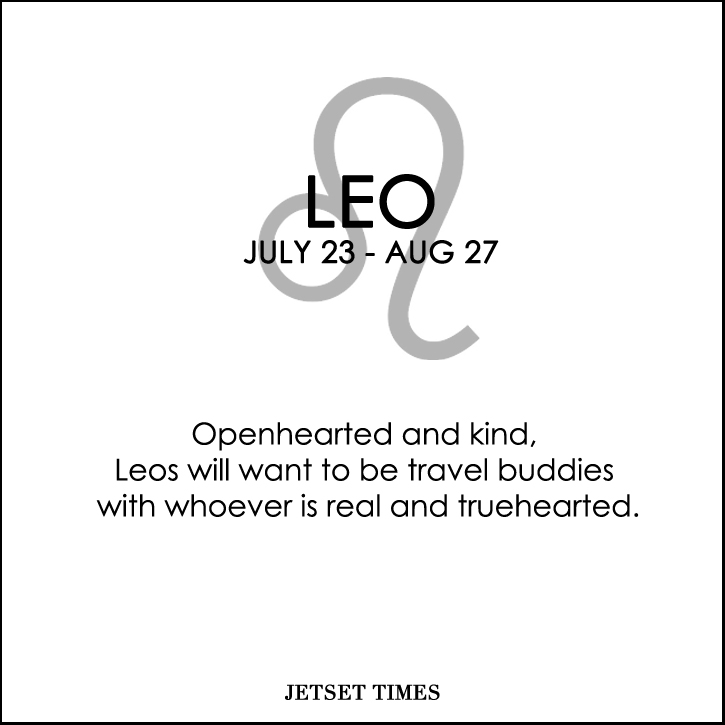 Travel Horoscope Leo