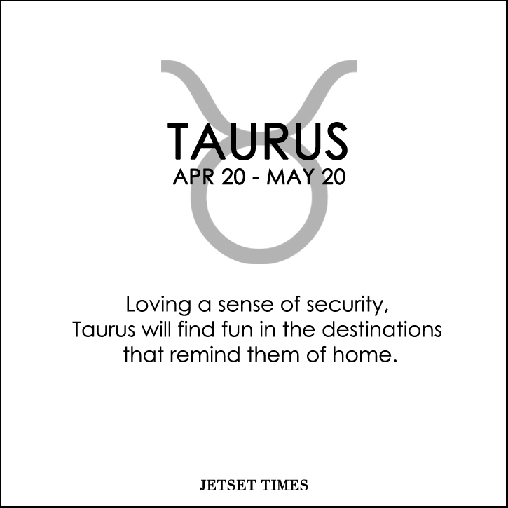 Travel Horoscope Taurus
