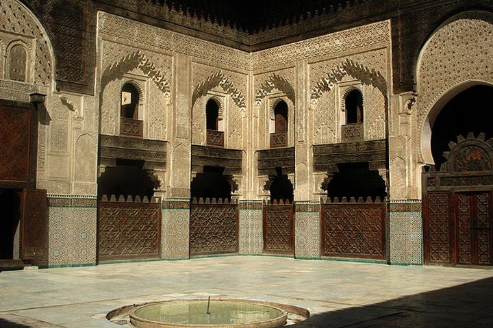 Flickr Maureen Attarine medersa Fez Morocco