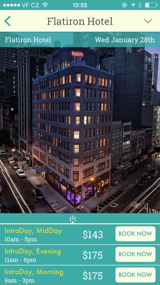 HotelsByDay app 1