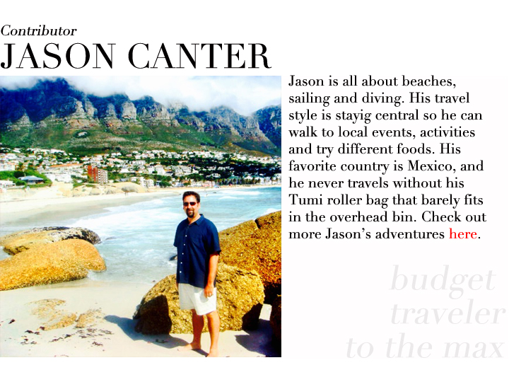 Jason Canter contributor profile