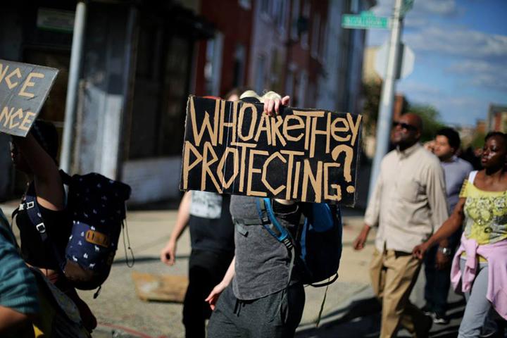 1 Baltimore Protest