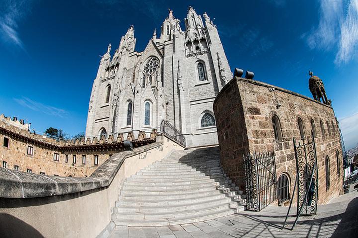Flickr Faris Algosaibi Tibidabo Barcelona Spain