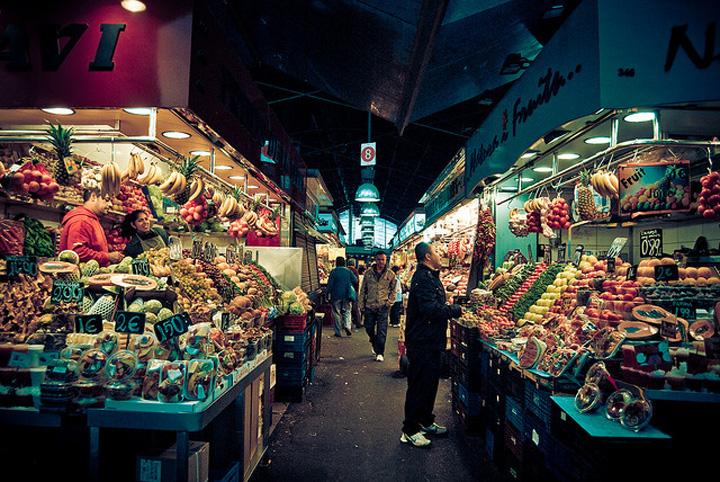 Flickr Adriano Agulló La Boqueria Barcelona
