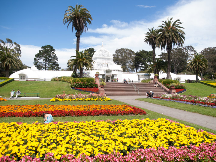 William Warby via Flickr San Francisco Conservatory of Flowers
