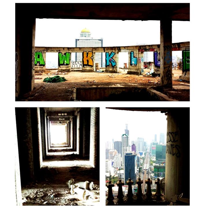 Abandoned skyscraper Bangkok 3